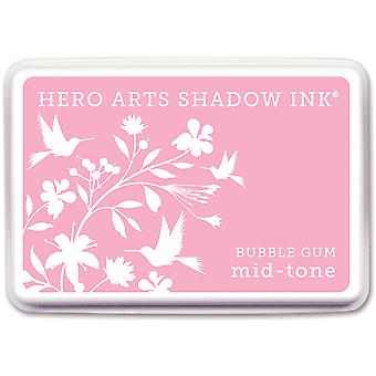 Hero Arts Midtone Shadow Ink Pad-Bubble Gum