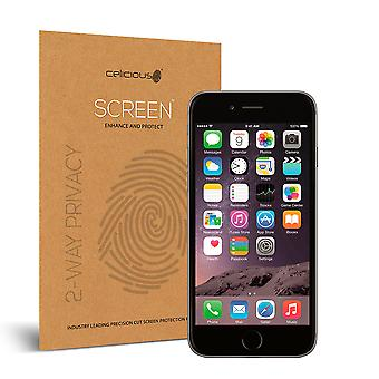 Celicious Privacy 2-Way Visual Black Out Screen Protector for Apple iPhone 6s