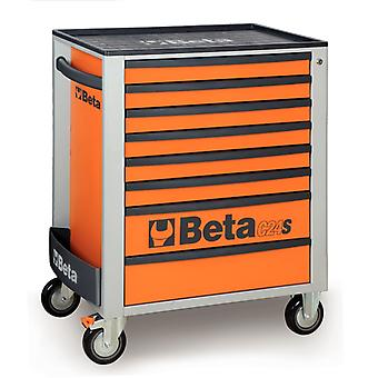 C24S 8/R Beta Mobile Roller Cabinet With Eight Drawers