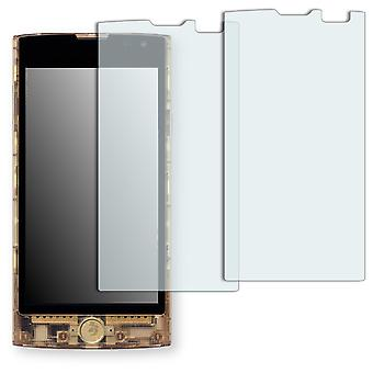 KDDI Fx0 display protector - Golebo crystal clear protection film