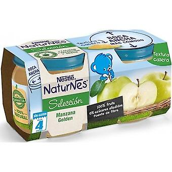 Nestlé Puree Apple Golden 2x200 gr (Childhood , Healthy diet , Pots)