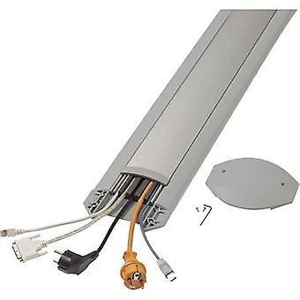 Serpa Cable bridge Aluminium , Light grey No. of channels: 5 3000 mm Content: 1 Set
