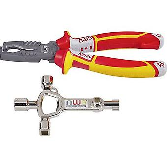 NWS MultiCutter VDE 748 Multifunction pliers Suitable for Round cable 5 up to 16 mm² 8 up to 13 mm