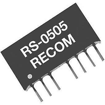 Convertidor de DC/DC recomendado RS - 2405D 2W, SIP4 RS - 2405D +/-5 V +-200 mA 2 W