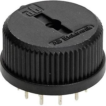 AB Elektronik 417 Connector piece 150 V AC 0.13 A Switch postions 12 1 x 30 ° 1 pc(s)