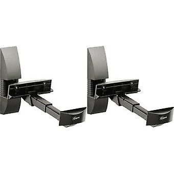 Vogel´s VLB 200 Speaker wall mount Tiltable, Swivelling Distance to wall (max.): 30 cm Black 1 pair