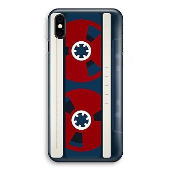 iPhone XS Full Print Case (glanset) - her er båndet