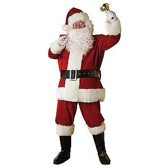 Santa Nikolaus Set 7-teilig deluxe Nikolaus Kostüm Kit