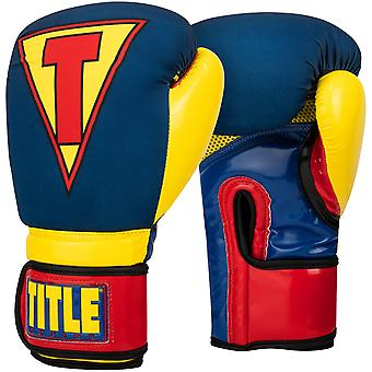 Title Boxing Infused Foam Training Boxing Gloves - Hero