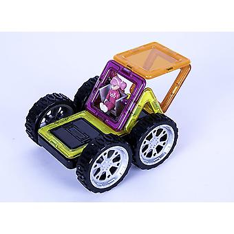 Magformers Rally Kart Girl Racer Set Magnetic Toy- Educational Toys