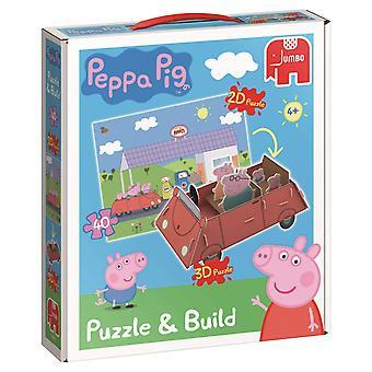 Peppa Pig Peppa Pig rompecabezas y construir