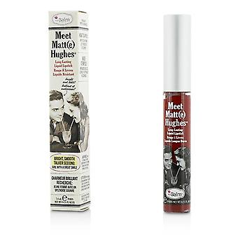 Thebalm Meet mat Hughes langdurige vloeibare Lipstick - loyaal - 7.4ml/0.25oz