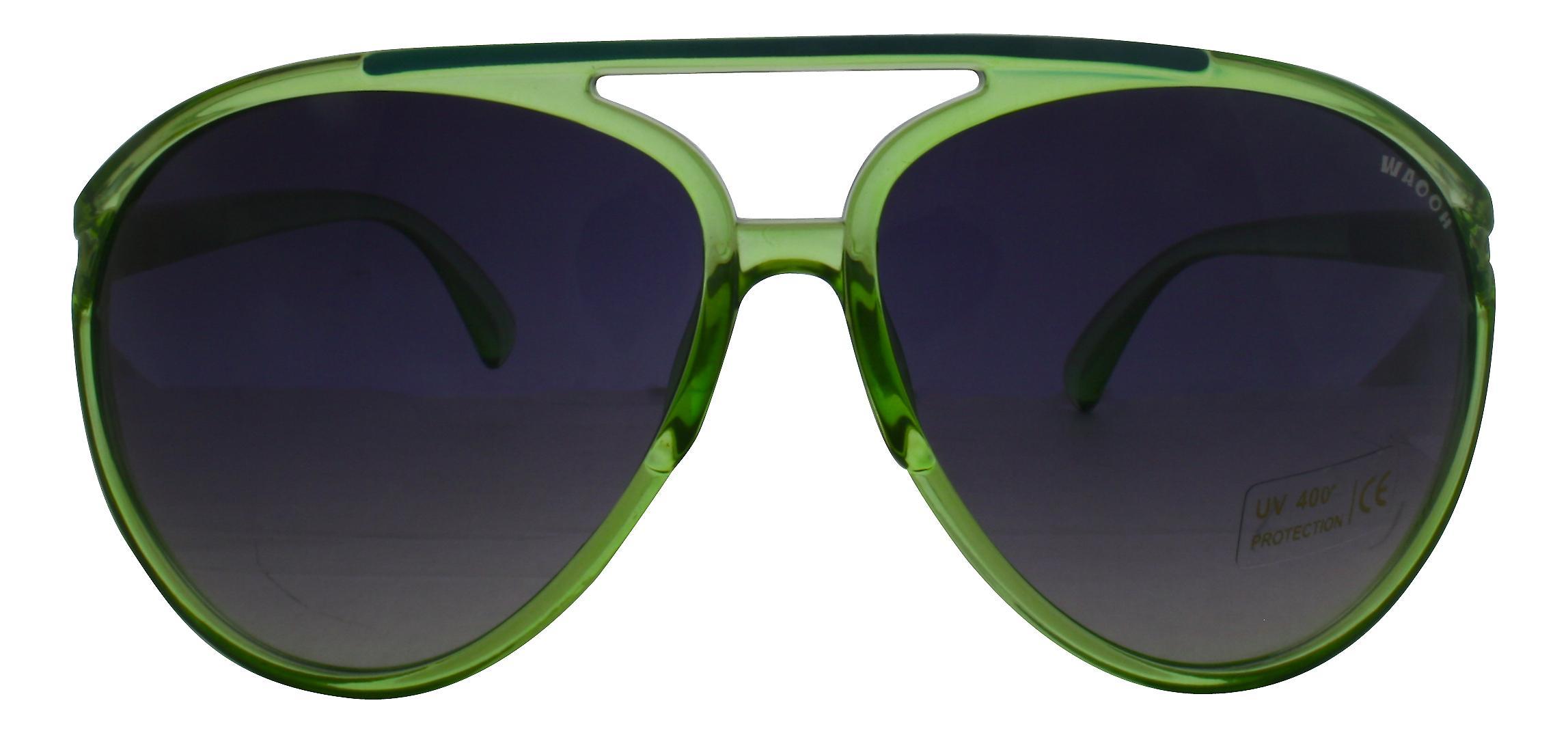 Waooh - Lunettes de soleil 633-8015 - Monture Couleur Protection UV400 Catégorie 3 - Verres fumés