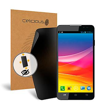 Celicious Privacy Plus 4-Way Anti-Spy Filter Screen Protector Film Compatible with Micromax A310 Canvas Nitro