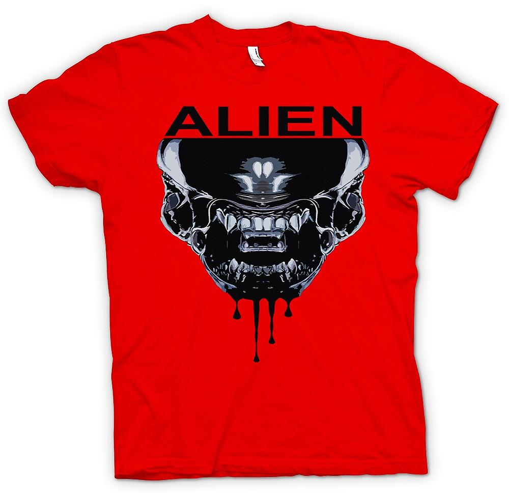 Hommes T-shirt - Alien Face - Sci Fi - Pop Art