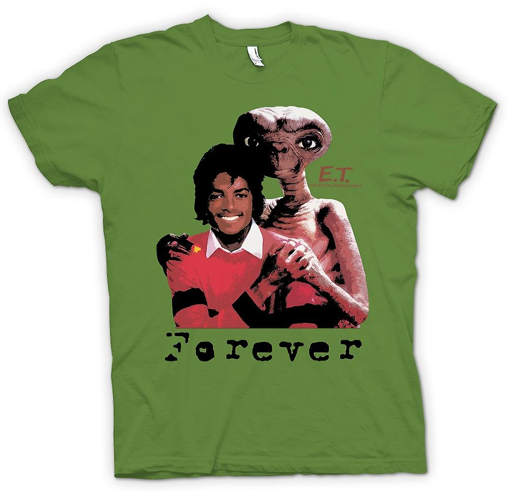 Mens T-shirt-Et für immer Michael Jackson - Alien