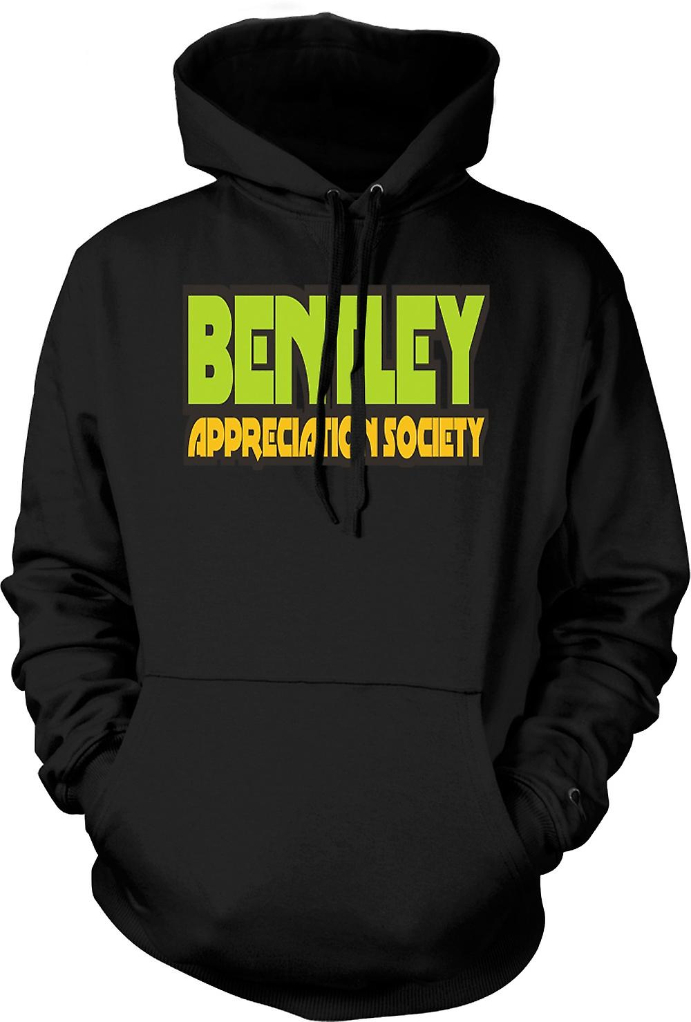 Mens Hoodie - Bentley Appreciation Society