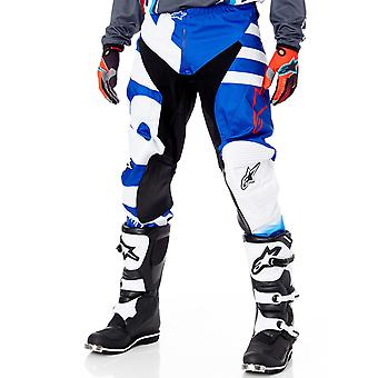 Alpinestars Blue-White-Red 2018 Racer Braap MX Pant