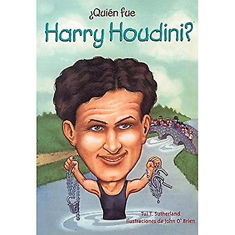 Quien Fue Harry Houdini? (Qui a été...?)