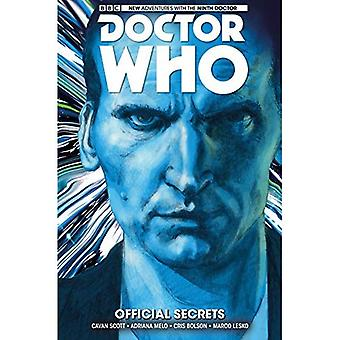 Doctor Who : Le neuvième docteur : Volume 3 : les Secrets officiels (Doctor Who)