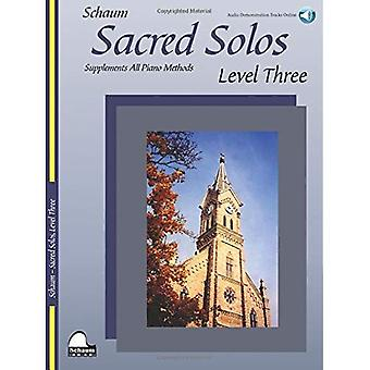 Sacred Solos, Level Three: Nfmc 2016-2020 Piano Hymn Event Primary D Selection