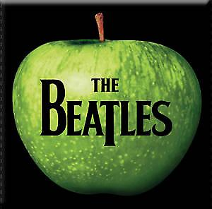 Beatles Apple steel fridge magnet