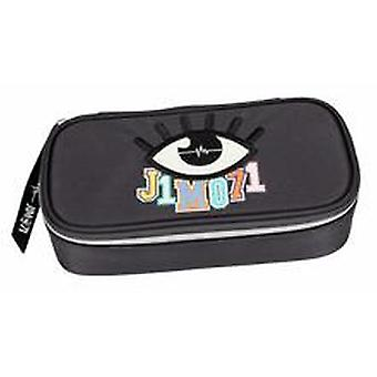 Depesche Lisa & Lena J1mo71 Pencil Case Tube In Dark Grey