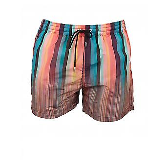 Paul Smith Künstler Multi Stripe Swim Shorts