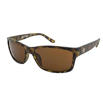 Harley Davidson Sunglasses Brown Tortoise Shell Pattern Beach Sun Protect Driving HD0117V-52E