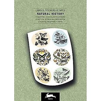 Natural History: Label & Sticker Book