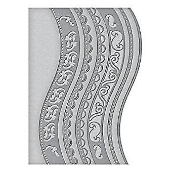 Truecan tarjeta creador A2 curva fronteras un dado (S5-180)