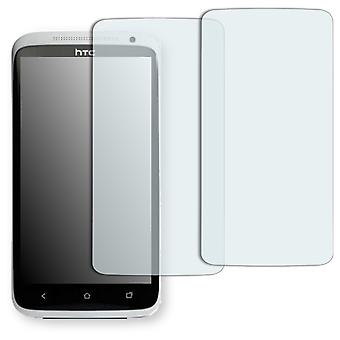 HTC X325E screen protector - Golebo crystal-clear protector (miniature sheet)