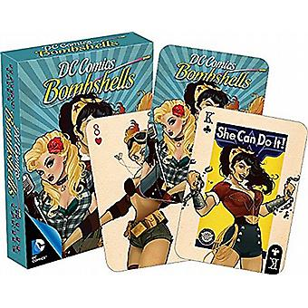 DC Comics Bombshells set of playing cards   -nm 52309-