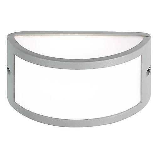 Saxby EL-40017 Middleton Modern IP44 60W Outdoor Wall Light In Textured grey paint