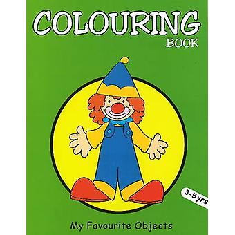 My Favourite Objects Colouring Book by Pegasus - 9788131904015 Book