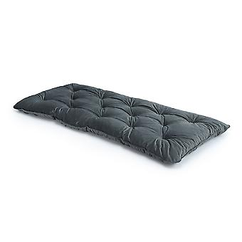 Loft 25� Luxurious Velvet Foam Crumb Tufted Single Futon Mattress - Slate
