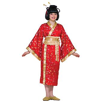 Madame Butterfly Japanese Geisha Asian Kimono Harmony Day Girls Costume