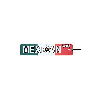 Deodorante per auto messicano modo segno di via