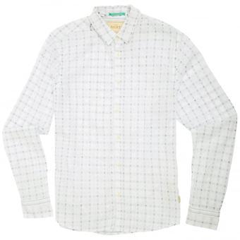 Scotch & Soda Window Check Shirt, White