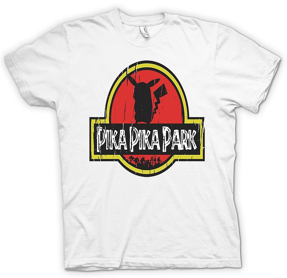 Womens T-shirt - Pika Pika Park - Pokemon Pikachu Inspired