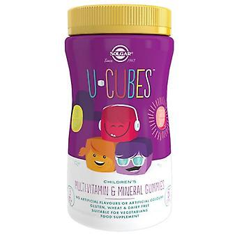 Solgar U-Cubes Enfants Multi-Vitamin et Gummies minérales 60 (52550)