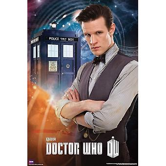 Poster - Studio B - Doctor Who - Matt Smith Wall Art P5595