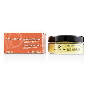 DELAROM Orange Sugar Body Scrub 150ml/5oz