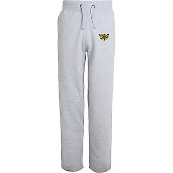 Kings Own Yorkshire Light Infantry - Licensed British Army Embroidered Open Hem Sweatpants / Jogging Bottoms