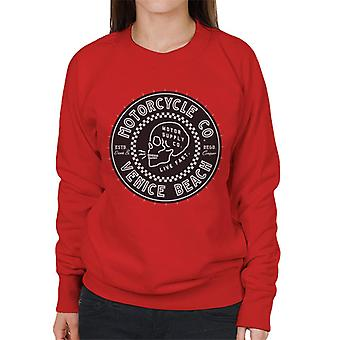 Divide & Conquer Venice Beach Motorcycle Co Women's Sweatshirt