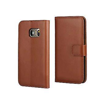 Fodral Läder / Plånbok - Samsung Galaxy S7 Edge