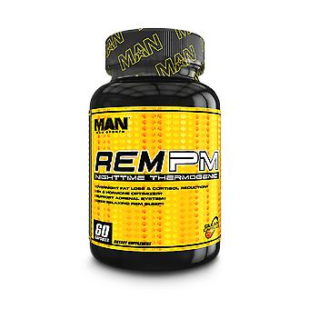 Man Sports Nutrition REM PM Nighttime Thermogenic Capsule