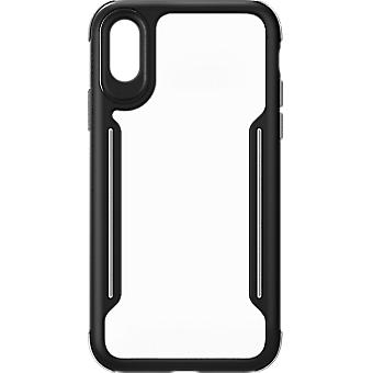 Verizon Shock absorbent Slim Guard Case for iPhone Xs/X - Black/Gray