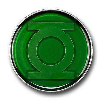Linterna Verde Hebilla Cinturón Verde Translúcida