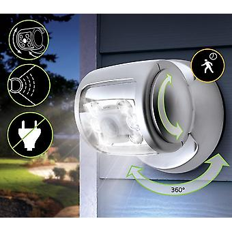 LED Light with Sensor for Porch - Wireless LED Motion Sensor Porch Light with Auto Timer Water-Proof - Extra Bright Lamp for Garden Outdoors